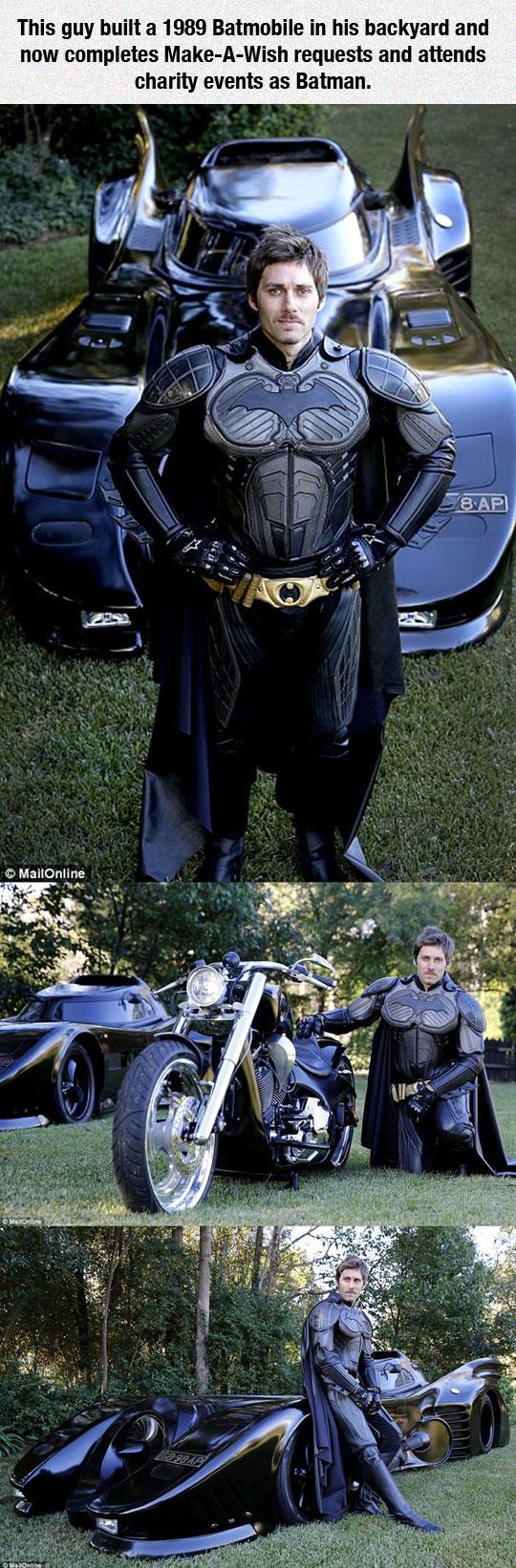 A Real Life Batman