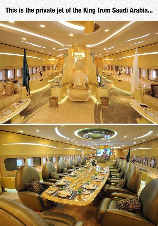 cool-Saudi-Arabia-king-plane-golden-big