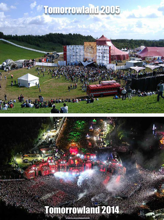 Tomorrowland Grew A Bit