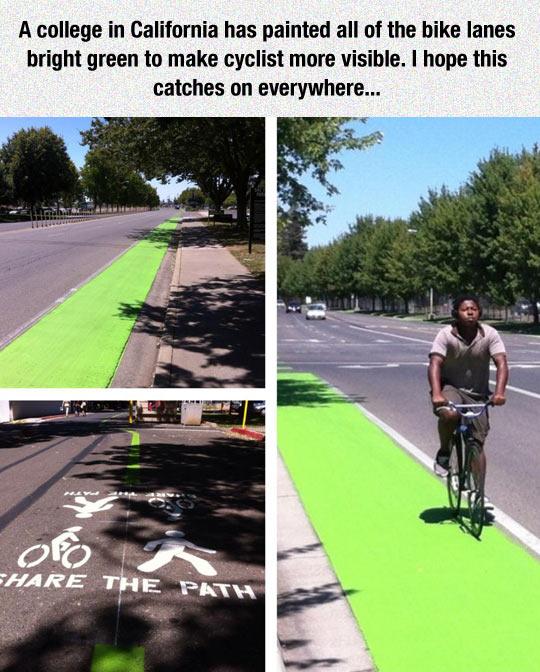 A Great Idea To Encourage Biking