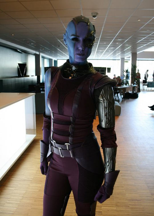 Awesome Guardians Of The Galaxy Cosplay
