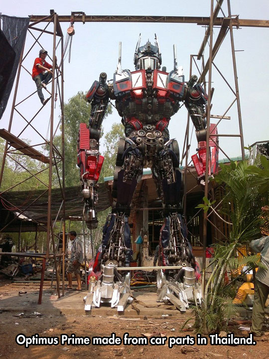 cool-homemade-Optimus-Prime-Thailand