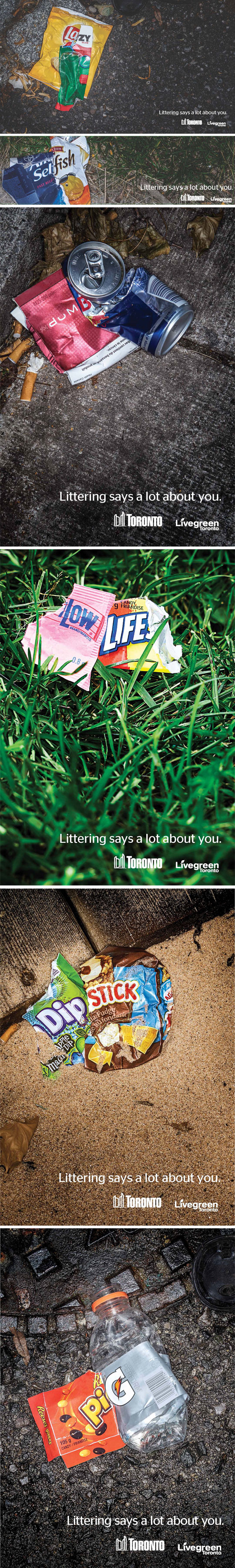 Littering Says A Lot About You