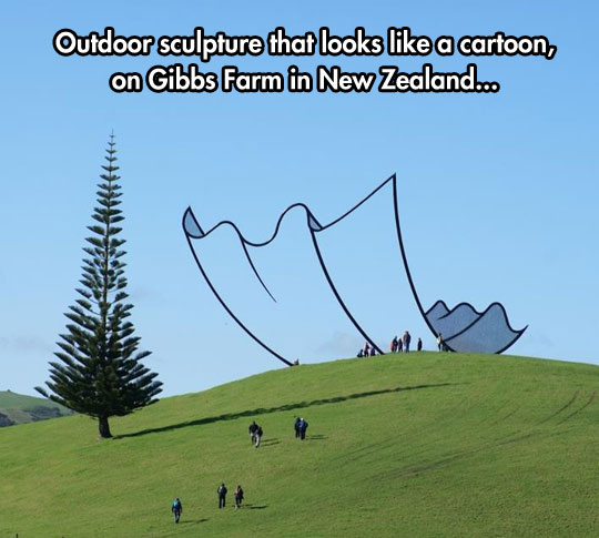 cool-outdoor-sculpture-look-like-cartoon