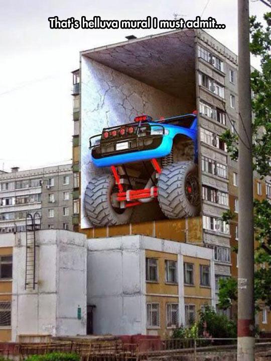 Amazing Giant Mural