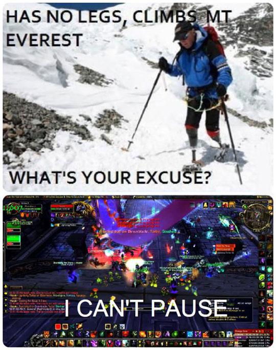 A Good Excuse