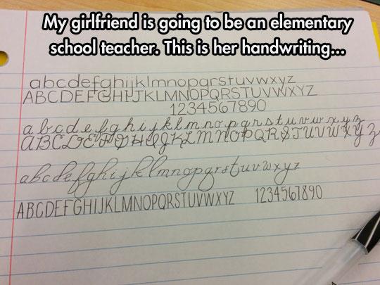 Penmanship Skills