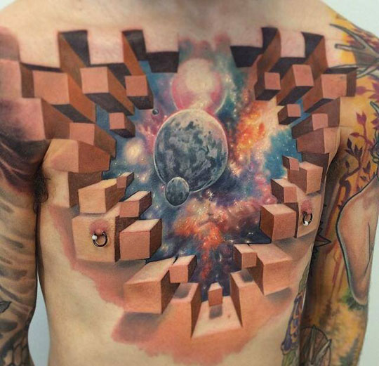 cool-tattoo-chest-3D-space
