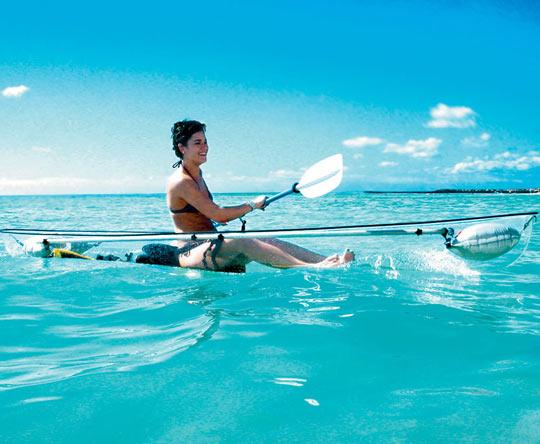 Very Cool Looking Transparent Kayak