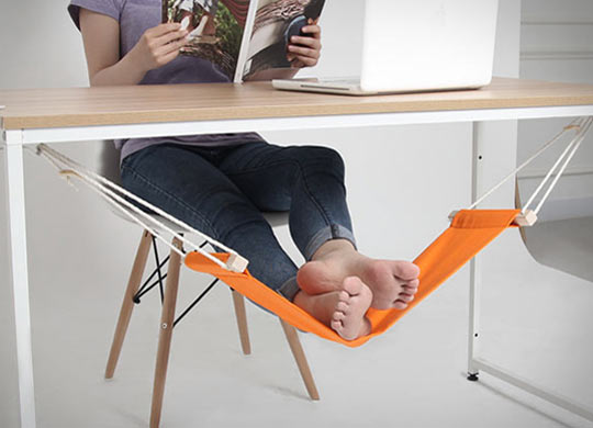 Now I Need An Under-The-Desk Foot Hammock