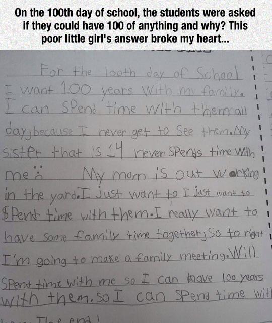 cute-girl-letter-family-time