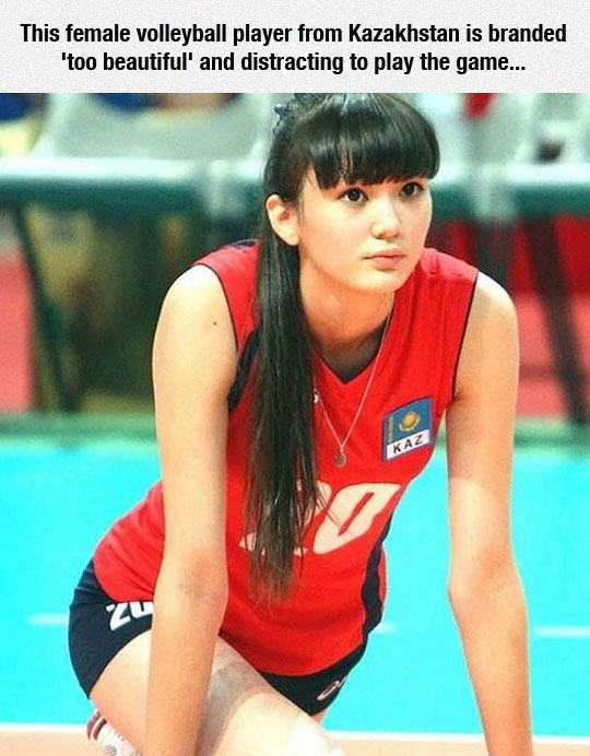 cute-volleyball-player-Kazakhstan