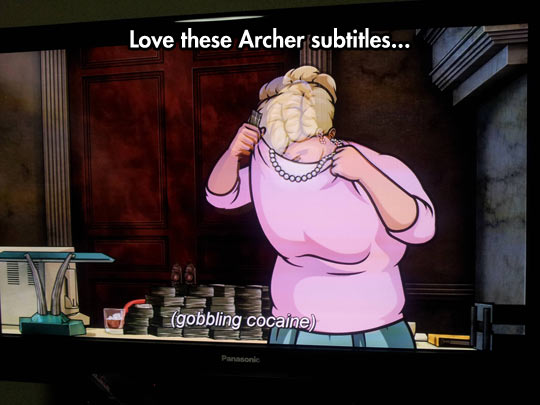 Archer Subtitles Are Neat