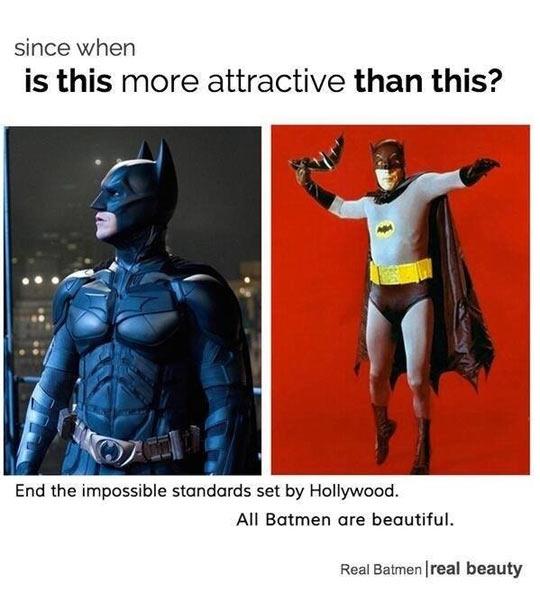 funny-Batman-attractive-Hollywood-standards