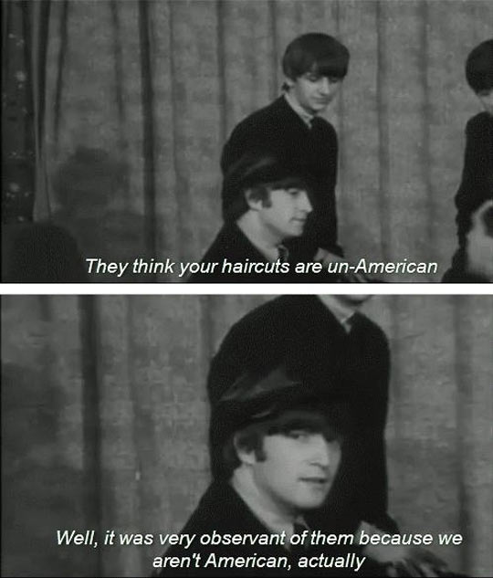 Beatles, Masters Of Sass