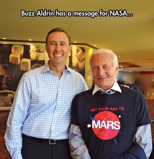 Buzz Aldrin Is Funny