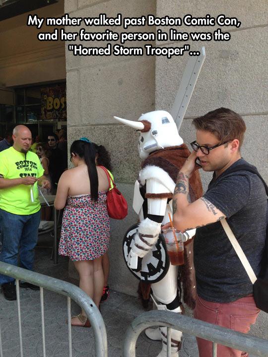 Horned Stormtrooper Cosplay