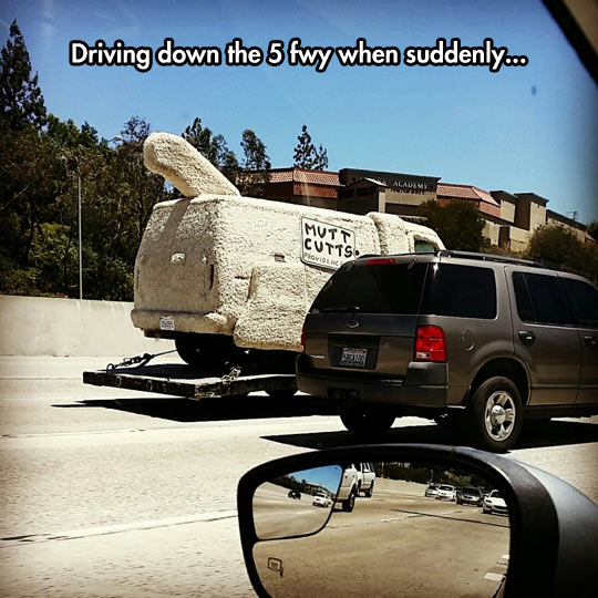 Pull Over, No It