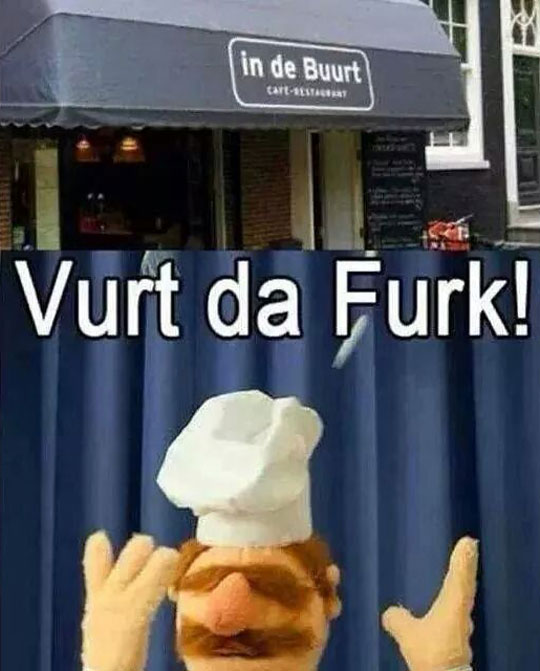 Swedish Chef Is Confused