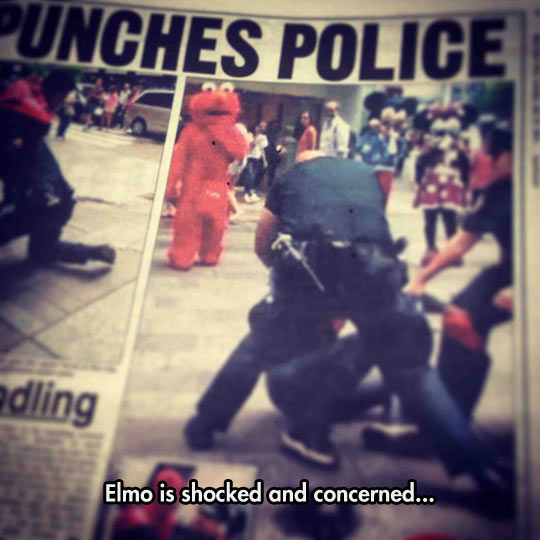 funny-Elmo-shocked-police-arrest