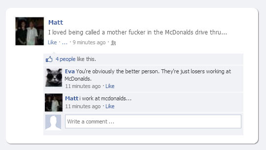 Misunderstood McDonalds Worker