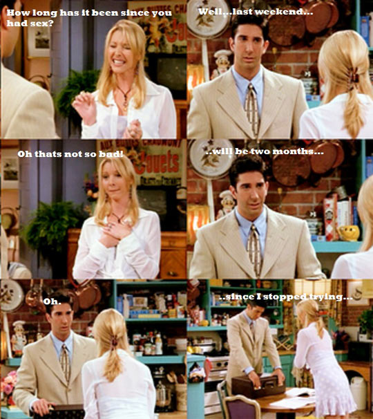 Ross And Phoebe Had Their Moments