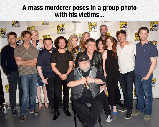 George RR Martin And His Victims