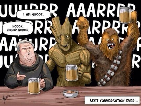 The Best Bar Conversation Ever