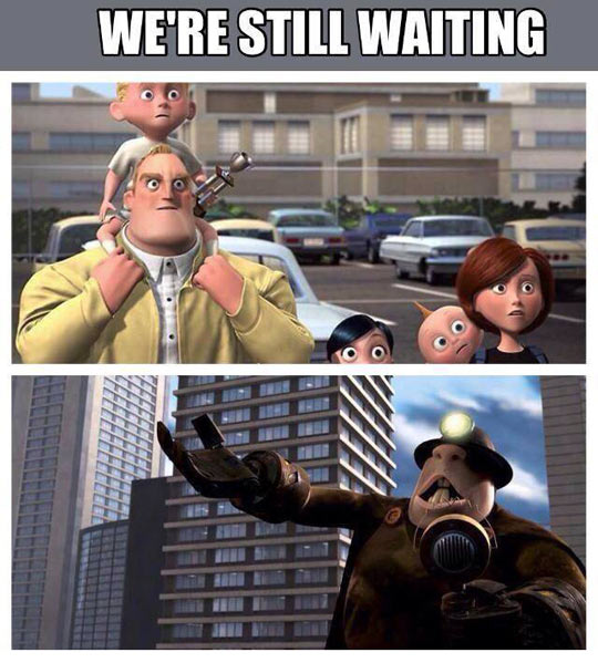 Come On Pixar, We Are Still Waiting