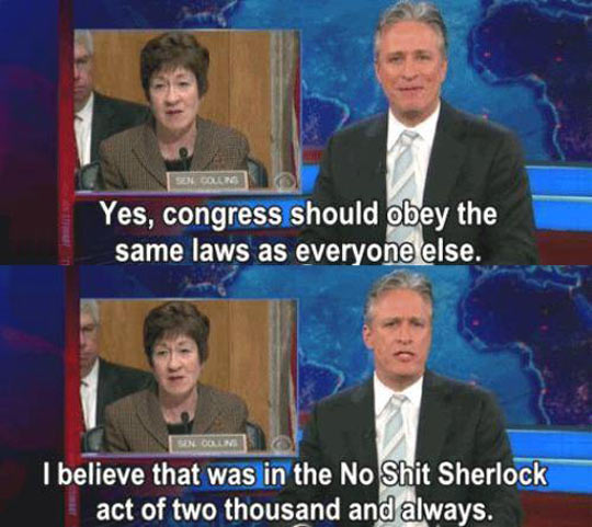 Jon Stewart On Congress