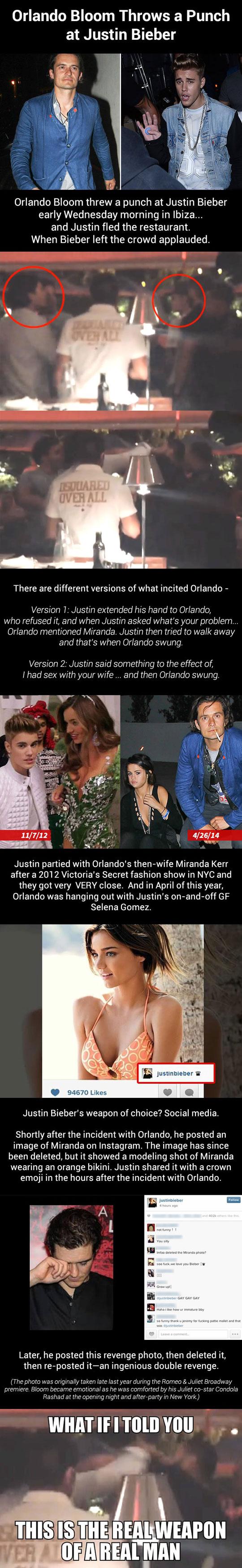 The Orlando Bloom- Bieber Theory