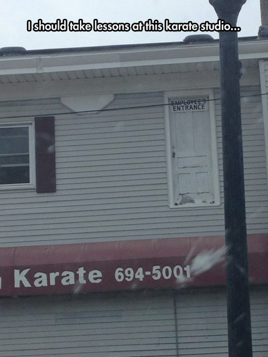 Karate Studio Is Not Messing Around