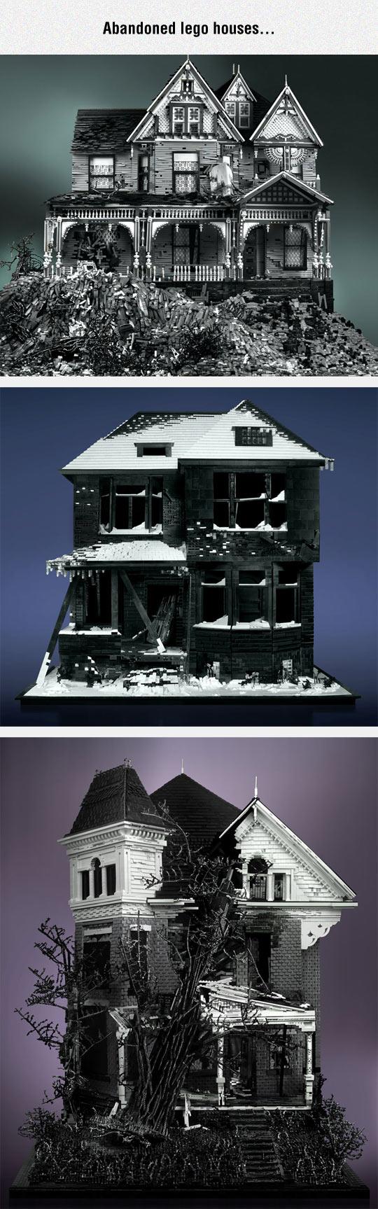 funny-Lego-abandoned-houses-haunted