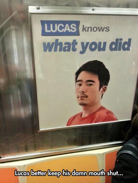 Shut Up, Lucas