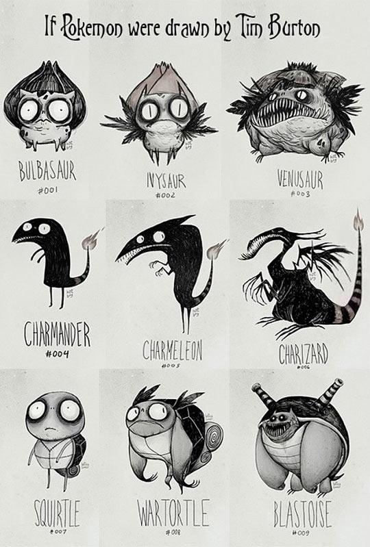 funny-Pokemon-draw-Tim-Burton