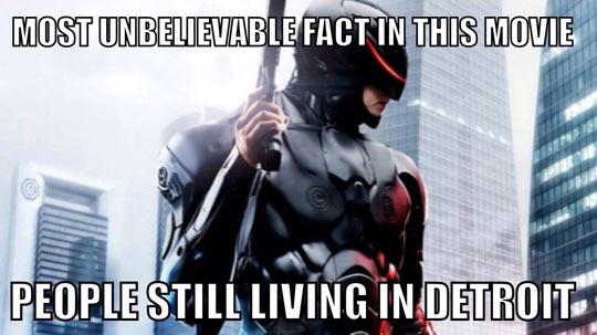 Robocop Is So Unrealistic