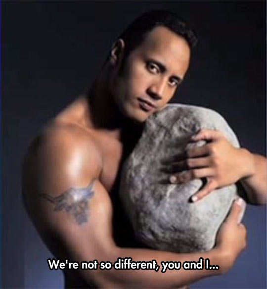 The Perfect Couple For The Rock