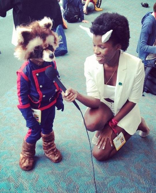 The Coolest Rocket Raccoon Cosplay
