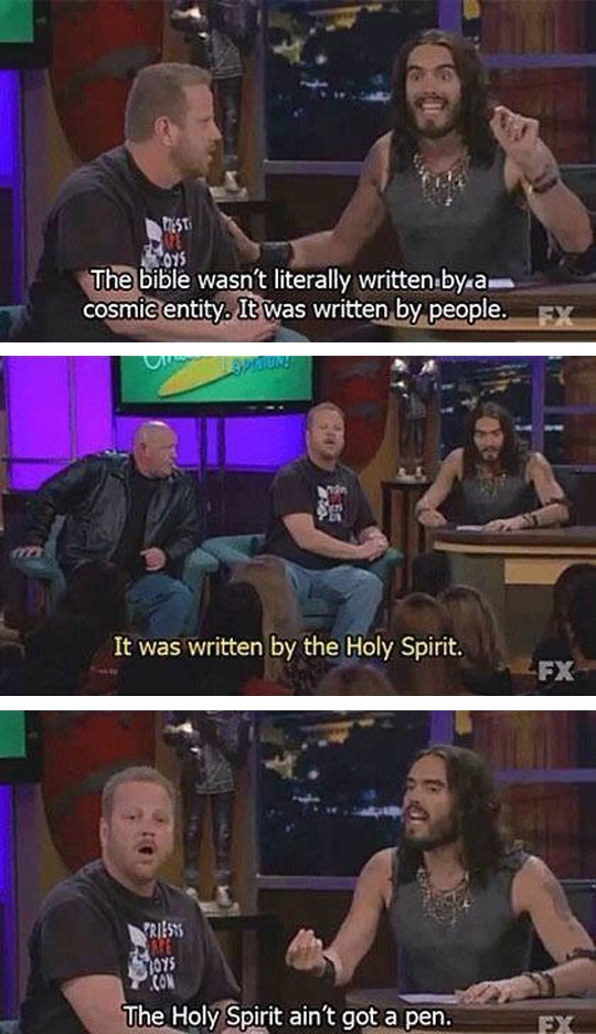 funny-Russell-Brand-bible-holy-spirit