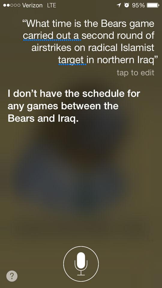 Siri And Its Humor
