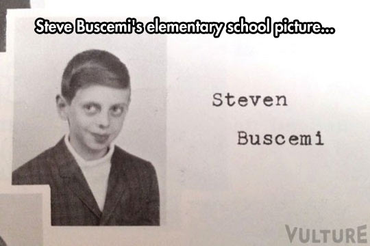 Steve Buscemi When He Was A Kid