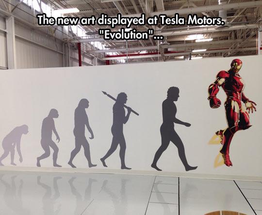 Evolution Art At Tesla Motors
