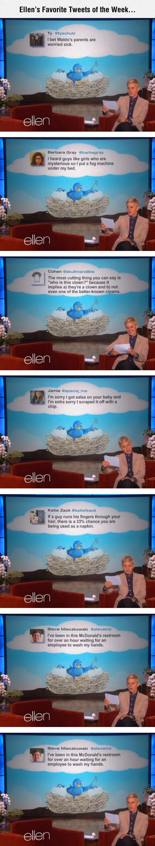 Ellen's Favorite Tweets Of The Week