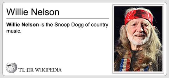 Stay Classy, Wikipedia