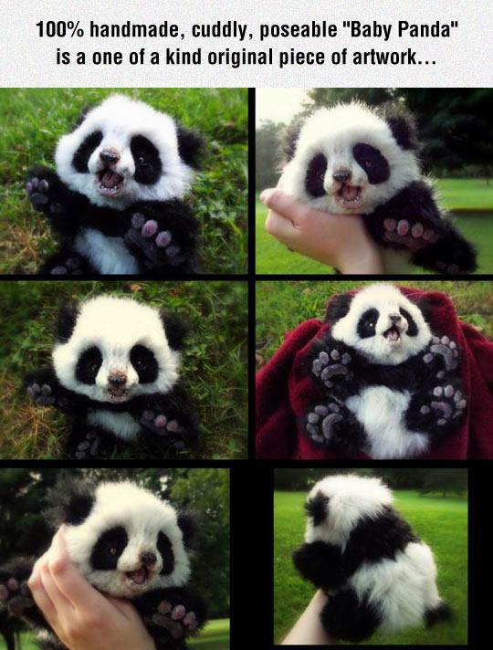 Baby Panda Stuffed Toy