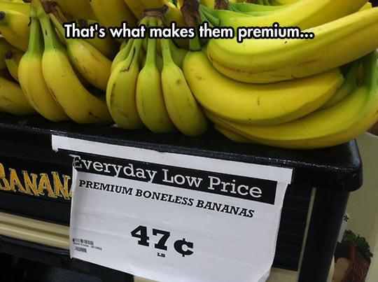 Premium Boneless Bananas