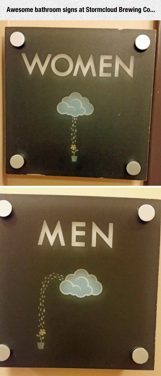 Awesome Bathroom Signs
