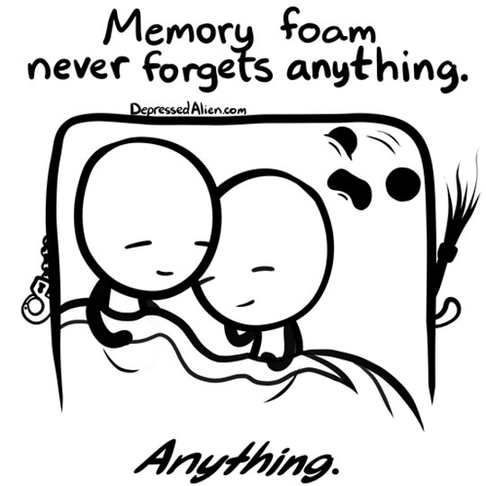 Memory Foam Needs Therapy