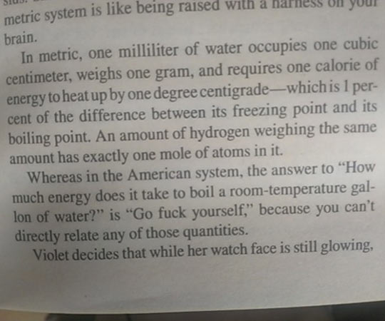 The Metric System Vs. Imperial