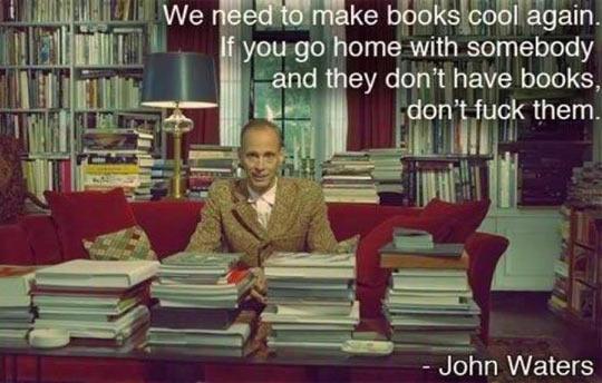 John Waters On Books
